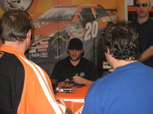 Tony Stewart at Home Depot Appearance