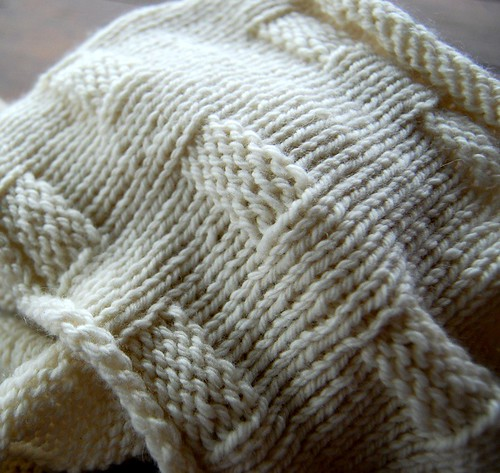 cashmere cowl - finished (pre-dyeing)