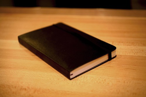 Moleskine Notebook of booze