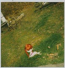 Ito in the grass