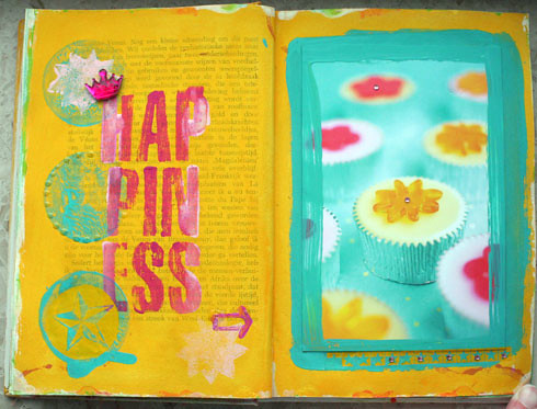Art journal happiness