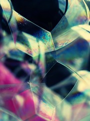 Geometry (Lily Zhu) Tags: abstract macro reflection art colors geometry crossprocessing bubble cubes soe creativephoto coolestphotographers