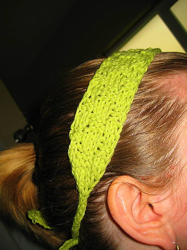 Headband to match baby dress
