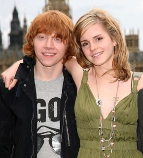 hermione, ron