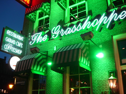 The Grasshopper, an Amsterdam coffeeshop by AndyH74.