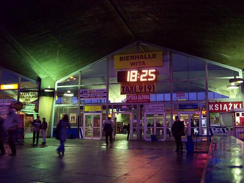 Katowice Main Station, upper level