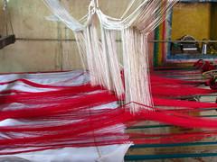 India - Colours of India - Silk Sari Weaving (mckaysavage) Tags: india color colour tn silk weaving sari tamil tamilnadu loom nadu kanchipuram kancheepuram