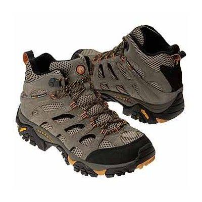 merrell light hiking shoes