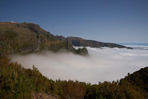 Desde el pico Arieiro-Madeira