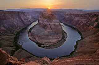 sunset nature landscape outdoors coloradoriver heights yikes pagearizona brianruebphotography horsehoebend