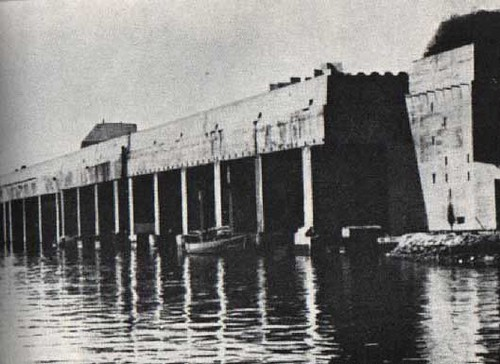 Base de submarinos en Saint-Nazaire