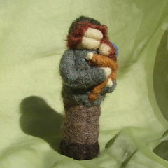 papa and child (haddy2dogs) Tags: felted waldorf needle nfest