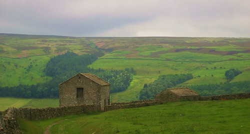 In and around Reeth in Swaledale, Yorkshire