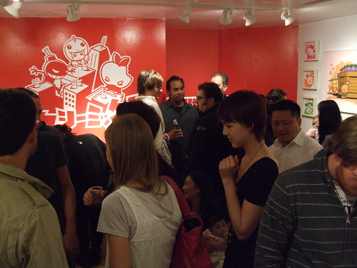 Gallery Show Opening