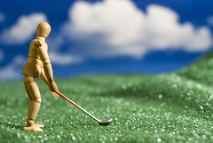 fore (Photo Globetrotter) Tags: art golf james photo wooden globe doll brian woody astro golfing turf astroturf manaquin globetrotter trotter leary brianleary brianjamesleary photoglobetrotter