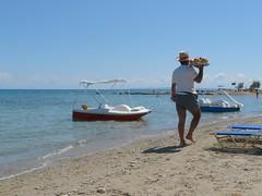 Fruiti fruiti nice and fresh! 3 euro (Coanri/Rita) Tags: holiday june island greece 2008 zakynthos coanri fruitman