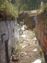 Graffitied World War One trench (hugovk) Tags: world summer abandoned june suomi finland geotagged one graffiti helsinki war mess wwi ab trench worldwarone ww1 helsingfors fortification hvk russian 1915 2008 fortress remains base firstworldwar sveaborg worldwar1 kes asema uusimaa krepost keskuu xxxv mkkyl graffitied southernfinland position3 geo:country=finland xxxv3 exif:ISO_Speed=50 tukikohta krepostsveaborg fortressofsveaborg maalinnoitus basexxxv tukikohtaxxxv 067kmtoknalainsouthernfinlandfinland imag4102 geo:lat=60229727 geo:lon=24857437 pivlisenpuisto reimarlia knala tukikohtaxxxv3 basexxxv3 asema3 exif:Focal_Length=77mm exif:Flash=autodidnotfire exif:Aperture=30 exif:Exposure_Bias=0 uudenmaanmaakunta geo:county=uudenmaanmaakunta geo:region=southernfinland exif:Exposure=1244 camera:Model=ds5mp camera:Make=digitalcamera geo:locality=mkkyl graffitiedworldwaronetrench meta:exif=1364132165