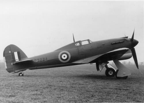 Warbird picture - Hawker Tornado