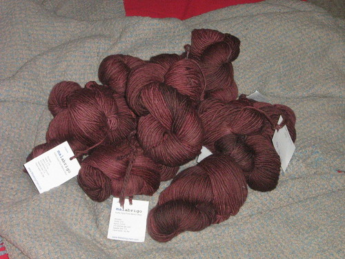 Red Mahogany Malabrigo Worsted