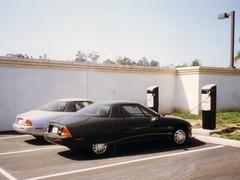 General Motors EV1 in Oxnard, CA (1997) (harry_nl) Tags: california usa gm 1997 saturn electriccar generalmotors oxnard ecar ev1