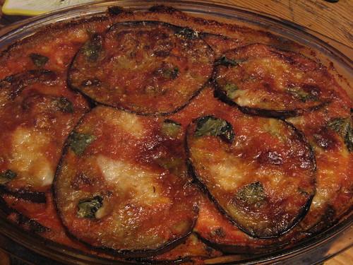 Benjie's parmigiana di melanzane