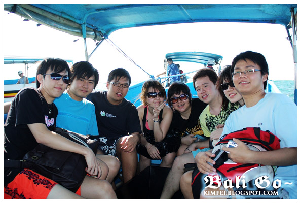 4-Group on Boat Nusa Dua