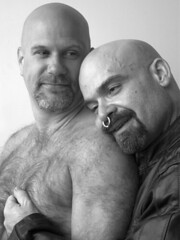 Len & Eric, 2005 (billpusztai) Tags: bear beard bears beards whiskers barbe barbu billpusztai