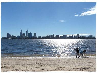 Boys at South Perth Foreshore
