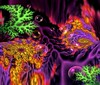 "Chall.8-""Under Water Garden Trip"" (Song_sing) Tags: abstract fractal challenge ishkolorkraft kaleidospheres kaleifractals"