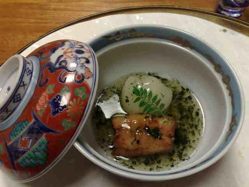 fish and daikon
