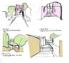20080527 Brion Tomb Entrances HQ (sketchitaly) Tags: hq entrances briontomb 20080527