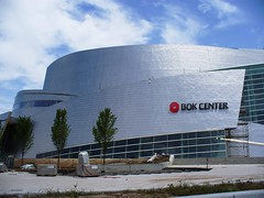 BOk Center, Tulsa (dsjeffries) Tags: windows beautiful architecture stainlesssteel curves round swirl curved conical swirling cesarpelli tulsaoklahoma downtowntulsa enmotion bokcenter bokarena bankofoklahomacenter bankofoklahomaarena wonderfularchitecture
