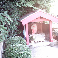 【写真】ミニデジで撮影したお地蔵さん