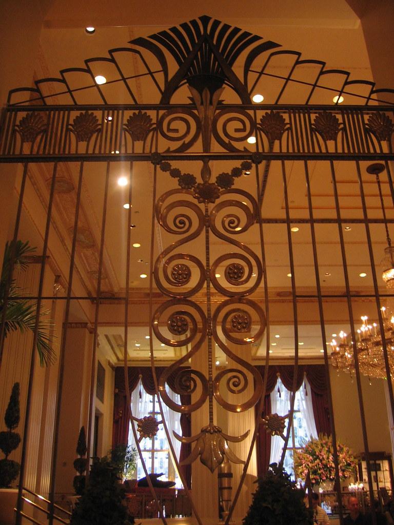 Waldorf-Astoria Hotel lobby