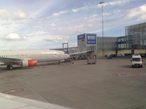 Dag 1- Snart dags för avfärd från Arlanda