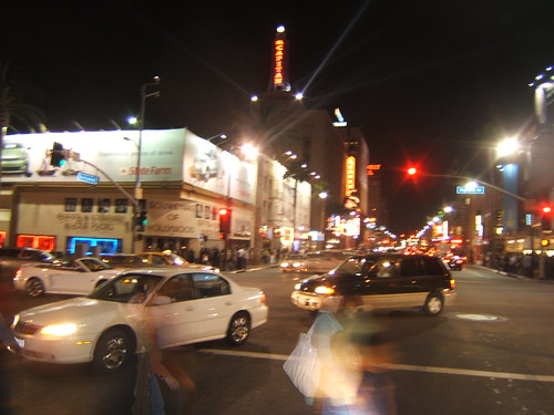 Hollywood Blvd & Highland @ 12:45am