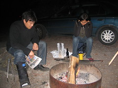 Tending fire (Kuang Chen) Tags: jeff shiwani