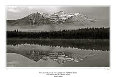 The Bow Range, Banff National Park (wayazo) Tags: mountain poster waterfall gallery canyon yellowstone teton wayazo goldstaraward itrekphoto