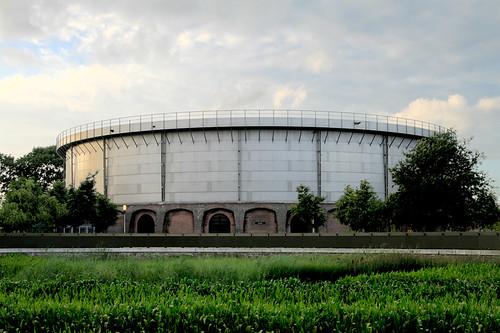Westergas fabriek HDR - Fiquei com mais vontade de estar lá depois de conhecer o local pelas fotos