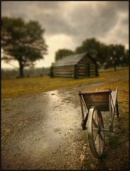 Valley Forge - Left Out In The Rain (mikonT) Tags: storm rain bravo hut wheelbarrow valleyforge sigma1020mm firstquality supershot mikont infinestyle citrit