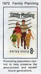 family planning (recovering lazyholic) Tags: family usa illustration graphicdesign stamps ephemera stamp postage populationcontrol