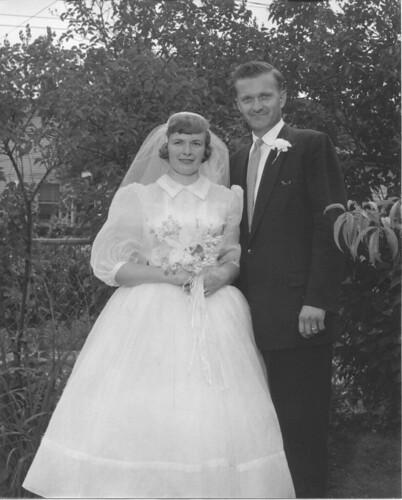 Mom and Dad's Wedding 1957 - 1