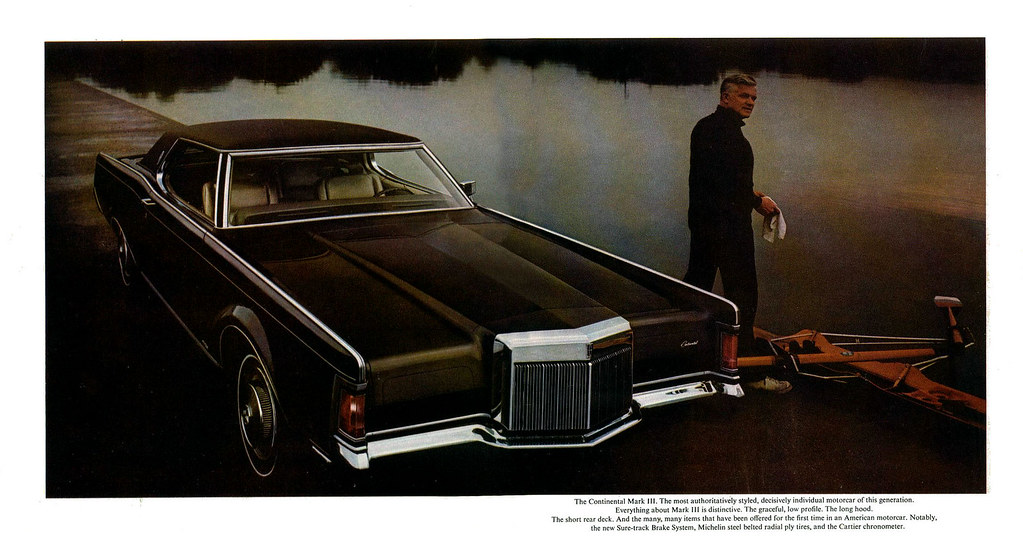 1970 Lincoln Continental and Mark III