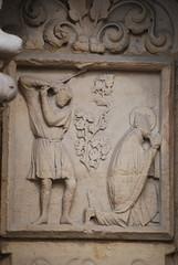 Paris: katedra Notre - Dame; XIII w.; portal centralny