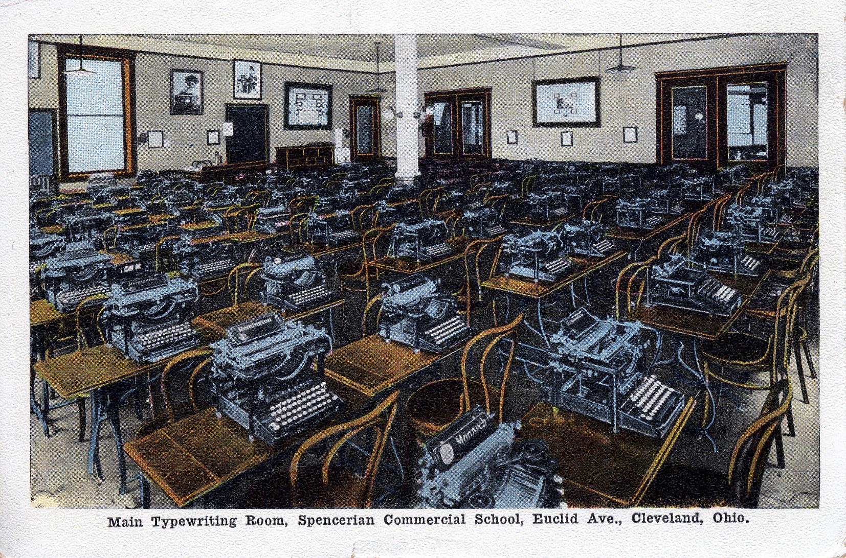 Typewriters, Classroom, Washington DC