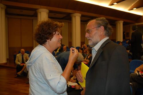 Luisa Laurelli, Roberto Conti