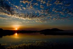 Paraso (Marcelo Rodrigo) Tags: sunset sea sky sol azul mar amarelo nuvens ceu sofranciscodosul mrodrigow marcelorodrigo