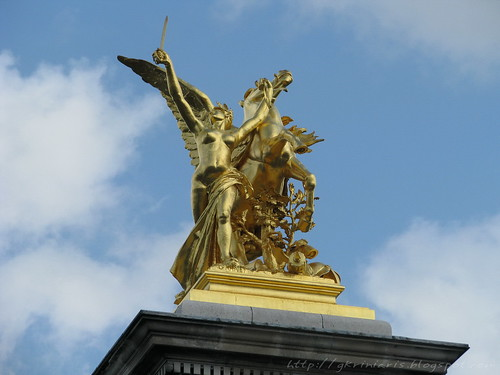 Detail of Pont Alexandre III