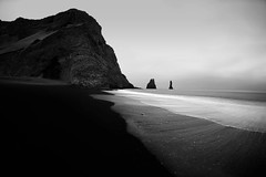 Approaching midnight (Andri Elfarsson) Tags: pictures desktop camera trip travel wallpaper vacation bw white black art apple nature canon landscape mono iceland highresolution imac darkness photos quality fineart fine large monochromatic vik full resolution 5k icelandic andri reynisfjara reynisdrangar vikimyrdal freedesktop freewallpaper platinumphoto aspect43 aspect1610 elfarsson wallpaperbw desktopbw desktopblackandwhite wallpaperblackandwhite imac5k