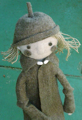 Art Doll - in progress (fingtoys) Tags: felted toys doll dolls handmade felt fing arttoys felttoys fingtoys